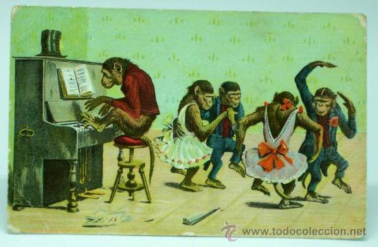 Postal alemana de colección. 1909