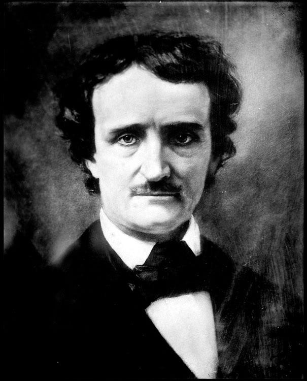 Edgar Allan Poe (Boston, Estados Unidos, 19 de enero de 1809 – Baltimore, Estados Unidos, 7 de octubre de 1849). Según la Encyclopædia Britannica: «Su agudo y sólido juicio como comentarista de la literatura contemporánea, la virtud musical y el idealismo de su poesía, la fuerza dramática de sus cuentos, dotes que se le reconocieron ya en vida, le aseguran un puesto destacado entre los hombres de letras más universalmente reconocidos»