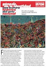 2012. Génesis de la identidad una lectura histórica del arte nacional. Arte naïf y arte popular Feliciano Carvallo (1920-2012). Núcleo 9.