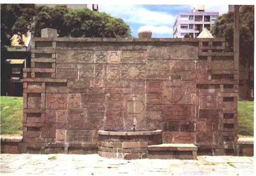 """TORRES GARCÍA: """"Monumento Cásmico"""" 1937 - 1938"""