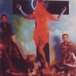 La crucufixión del cochino levitando