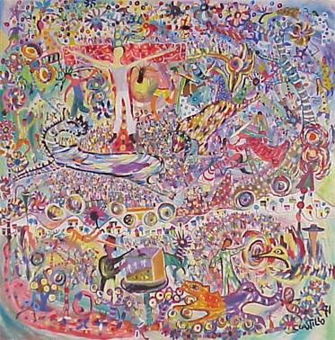 <b>T&iacute;tulo:</b> Cristo del Circo &nbsp;&nbsp;&nbsp; <b>Autor:</b> Claudio Castillo &nbsp;&nbsp;&nbsp; <b>Dimensiones:</b> (121 x 121) cm &nbsp;&nbsp;&nbsp; <b>A&ntilde;o:</b> 1971