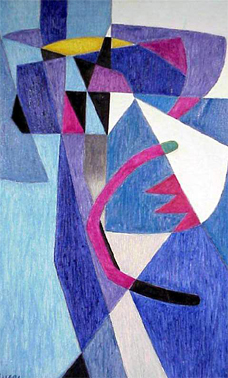 <b>T&iacute;tulo:</b> Presagiadora &nbsp;&nbsp;&nbsp; <b>Autor:</b> Oswaldo Vigas &nbsp;&nbsp;&nbsp; <b>Dimensiones:</b> (80 x 49.8) cm &nbsp;&nbsp;&nbsp; <b>A&ntilde;o:</b> 1970