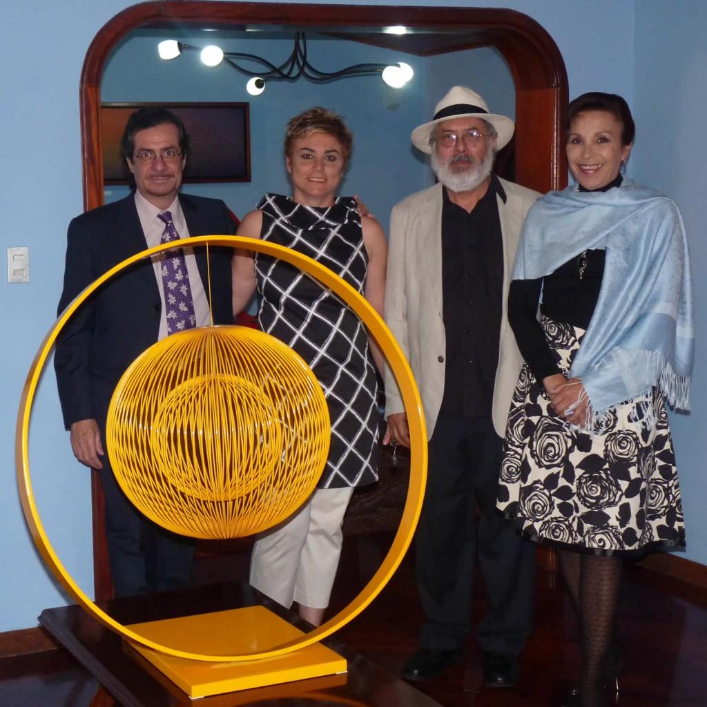 Exposición Inaugural Espacio EL CIELO, 21 de diciembre del 2010