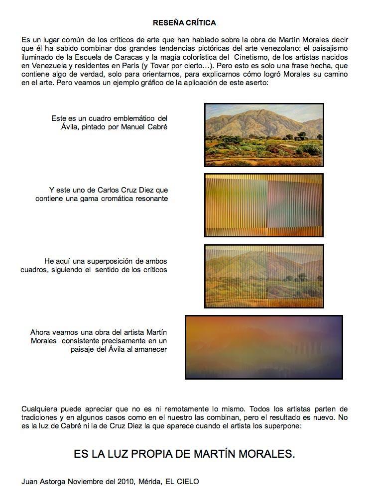 Reseña Crítica - Juan Astorga Junquera