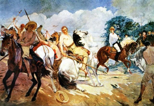 Image result for la pintura en el siglo 19 en venezuela la toma de las flecheras